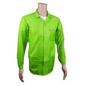 Hi-Vis Yellow Green ESD Jacket