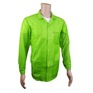 Hi-Vis Yellow Green ESD Jacket